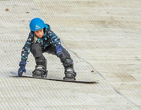 Kinderfeestje snowboarden