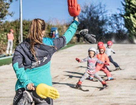 Kids en fun dag & Diploma skien