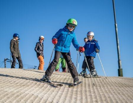 Wintersportclub voor kids